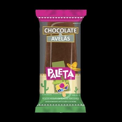 Picolé de Paleta de Chocolate com Avelã