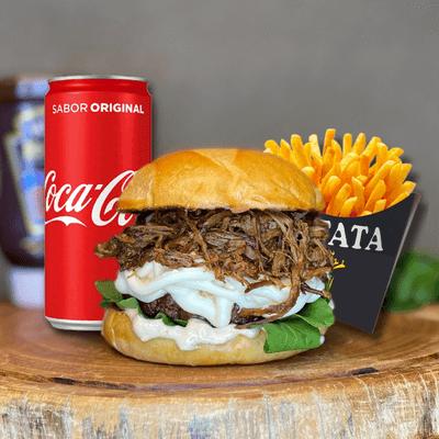Cupim Burger + Refri Lata + Fritas