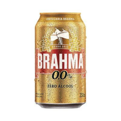 Cerveja Brahma Zero Lata