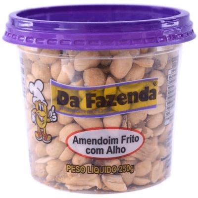 Amendoim Da Fazenda C/Alho - 80g