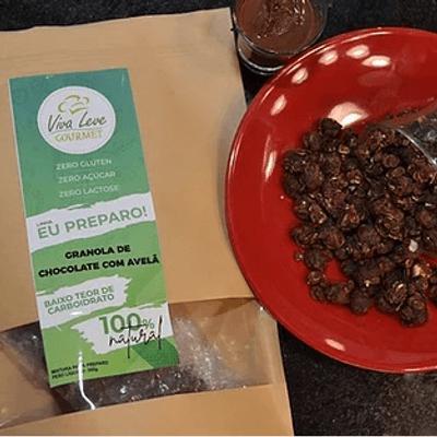 Granola de Chocolate com Avelã - Peso Líquido 300g