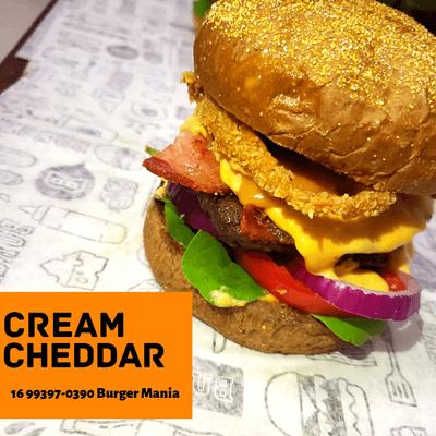 Burger Cream Cheddar