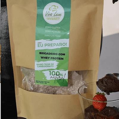 Brigadeiro com Whey Protein - Peso Líquido 135g