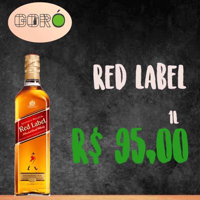 Wisky Red Label 1L