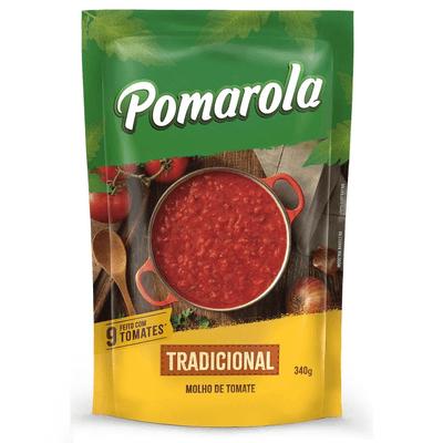 Molho dde Tomate Pomarola Tradicional - 340g
