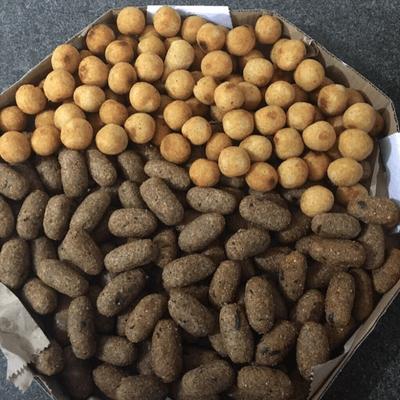 Salgados: Combo 100 Salgadinhos Fritos