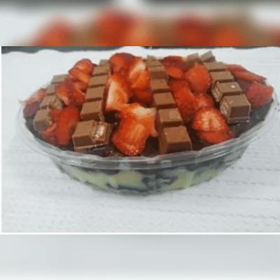 Marmitinha Brownie Recheada Com Cobertura P 5