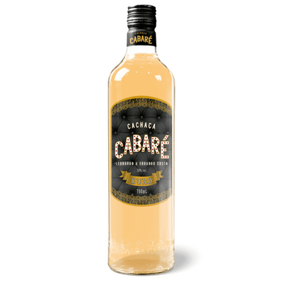 Cachaça Cabaré Ouro - 700ml