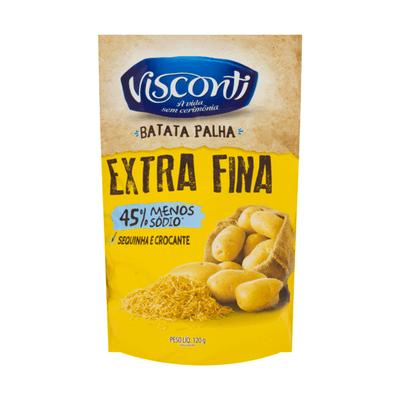 Batata Palha Extra Fina Visconti 120g