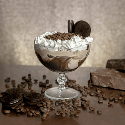 Taça Oreo Café Frappé