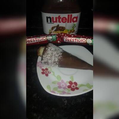 Prestígio com Nutella