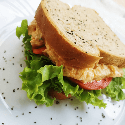 Sanduíche Natural de Patê de Frango