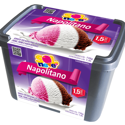 Pote de Napolitano 1,5l