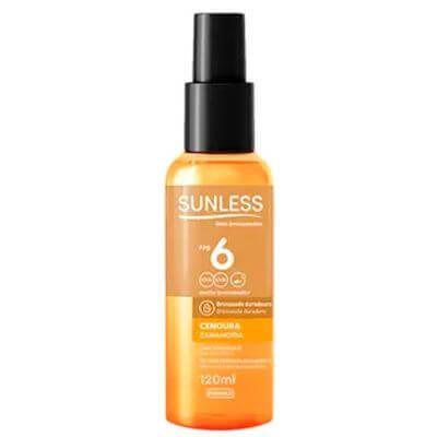 Óleo Bronzeador Sunless FPS 6 - 120ml