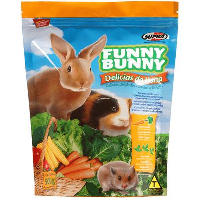 Ração Super Premium Funny Bunny 500g
