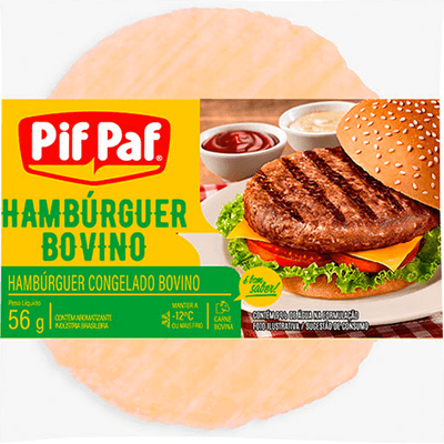 Bife Hambúrguer de Boi Pif Paf