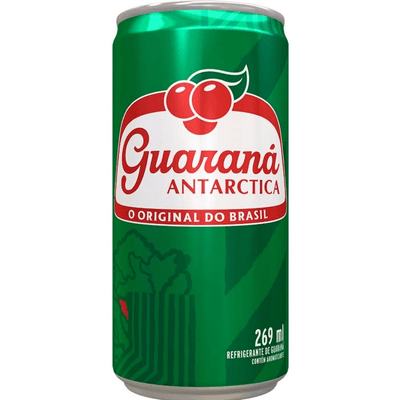 guaraná antártica lata 269 ml