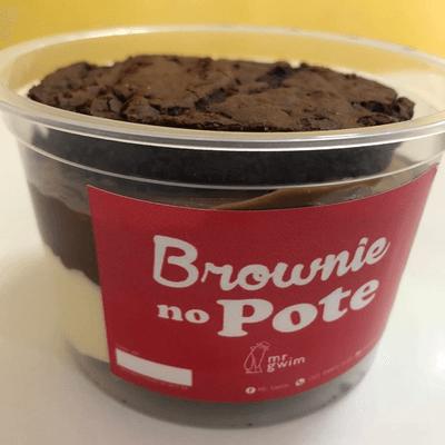 Brownie no pote 500ml