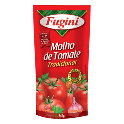 Molho de Tomate Tradicional Fugini - Sachê 340g