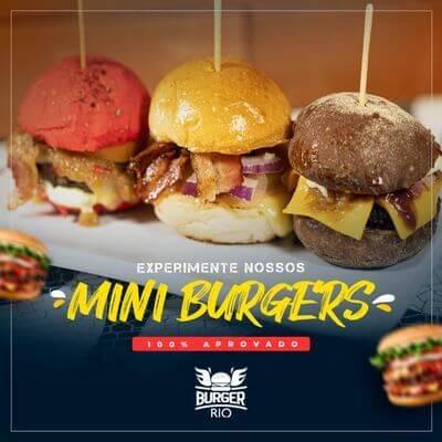 Mini Burger (3 unidades)