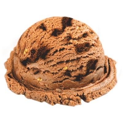 Sorvete brownie Trufado