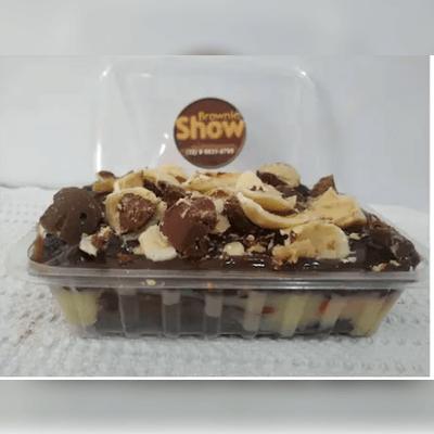 Promoções: Marmitinha Brownie Recheada Com Cobertura P 3