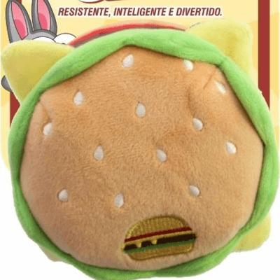 Pelúcia hambúrguer