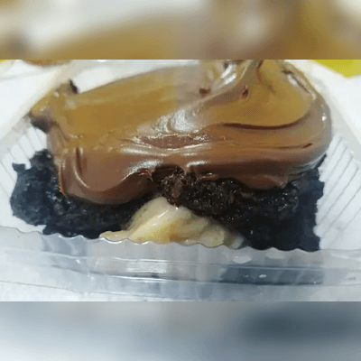 Brownie Recheado com Cobertura 7