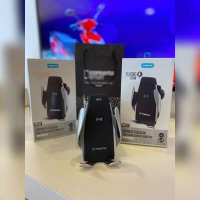 Carregador Veicular Elétrico com Wireless