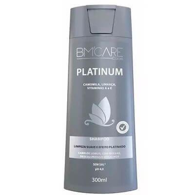 Shampoo Matizador BM`Care Platinum - 300ml