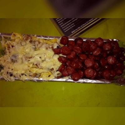 Batata Queijo + Bacon+ Calabresa
