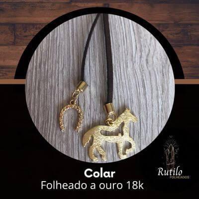 Colar Folheado a ouro 18K
