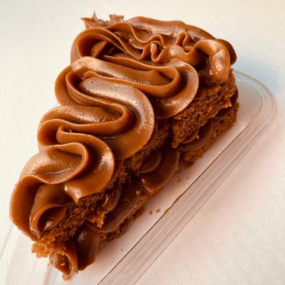 Torta de Chocolate em Fatia