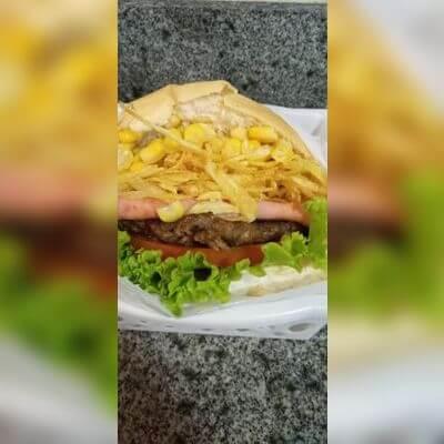 X-Salada Burguer