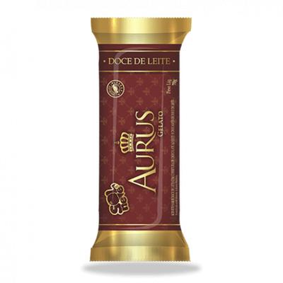 Picolé Aurus - Doce de Leite