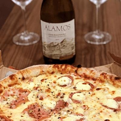 Pizza Massa Fina e Crocante G - 35cm | 8 Fatias