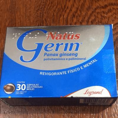 NATUS GERIN 30 CP (PANAX GINSENG)