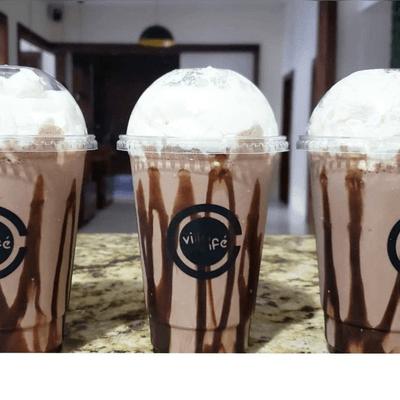 Cappuccino Gelado de Chocolate