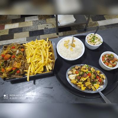 Contra Filet com Fritas Completo