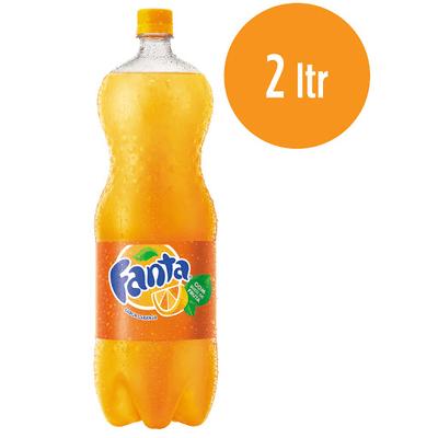 Fanta laranja 2litros