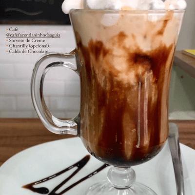 Afogatto Café com Sorvete