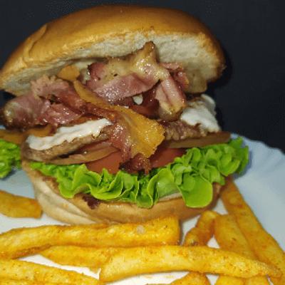 Du Bravo Bacon + Fritas P