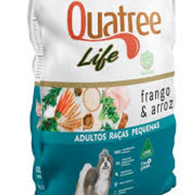 Quatree Life Adulto Raças pequenas 1kg granel