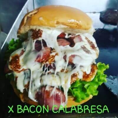 X-Bacon Calabresa