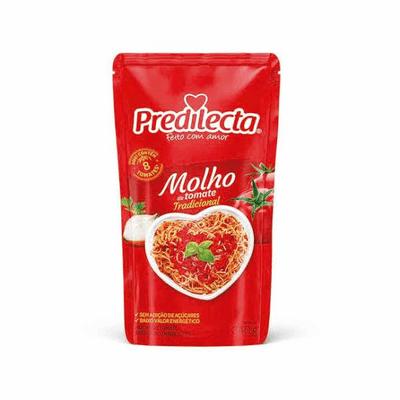 Molho de Tomate Predilecta Tradicional - 340