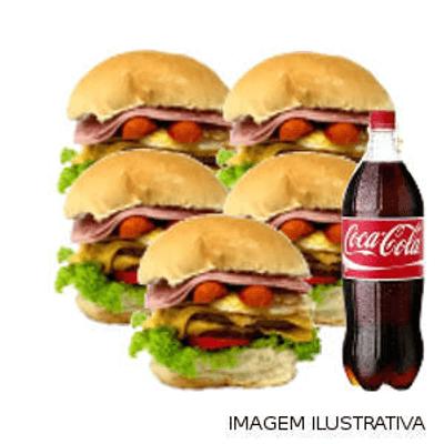 Combo 6 Du Bravo Tudo + Coca Cola 1L