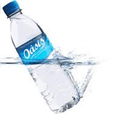 Água sem gás  Oásis