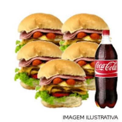 Combo 5 Du Bravo Tudo + Coca Cola 1L