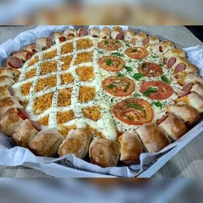 Pizza Doce 25cm (4 fatias)