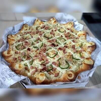 Pizza Salgada 25 cm (4 fatias)